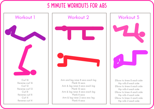 Workouts for abs printable