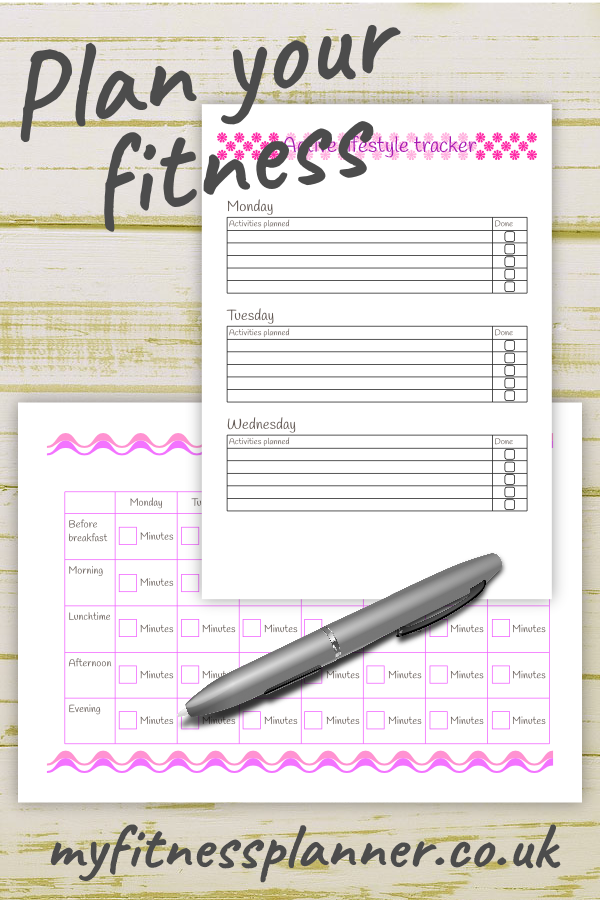 Daily workout planner