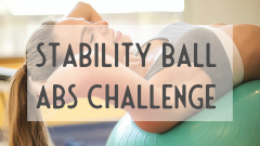 Stability ball challenge 2109