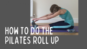 how to do the pilates roll up