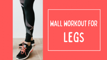 wall workout for legs
