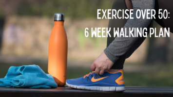 exercise over 50 a 6 week walking plan