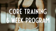 Printable core workout 6 week program