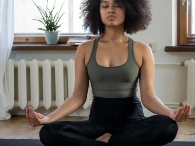 Healthy living tips meditate