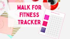 Walk for fitness tracker