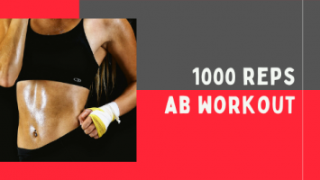 1000 reps ab workout