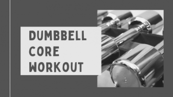 Core dumbbell workout