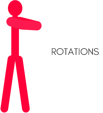 Oblique exercises for beginners - rotations