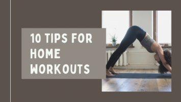 How to get in shape at home - 0 tips for home workouts